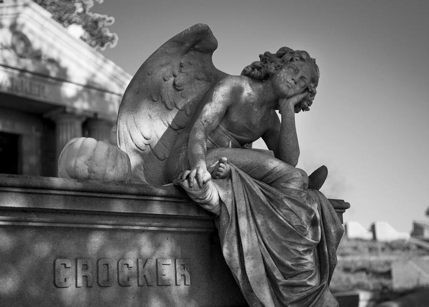 Crocker Angel, Moutnain View Cemetery, Oakland