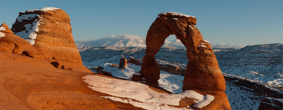 Sunset Over Delicate Arch, Arches National Park