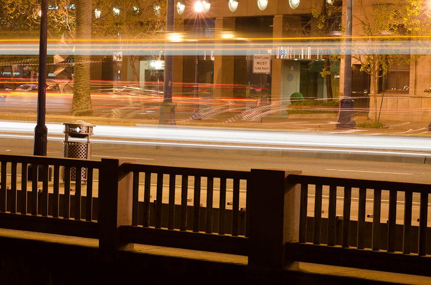 The Embarcadero At Night