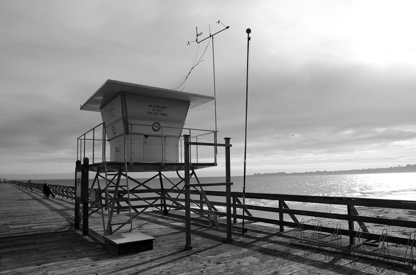 Lifeguard Tower, Sea Cliff Beach