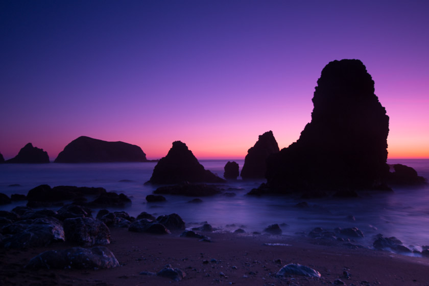 Rodeo Beach at Sunset