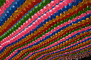 Lanterns for Buddha's Birthday - Seoul, South Korea