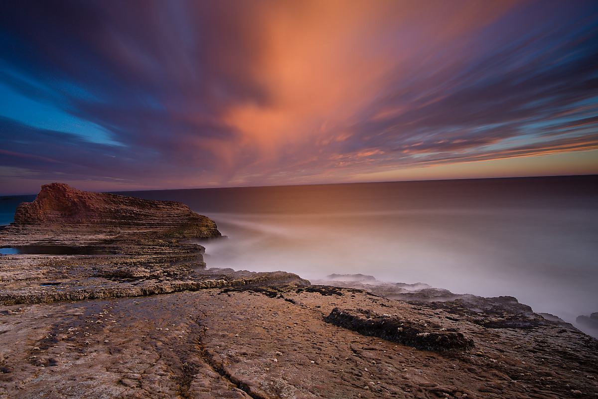 Panther Beach Sunset