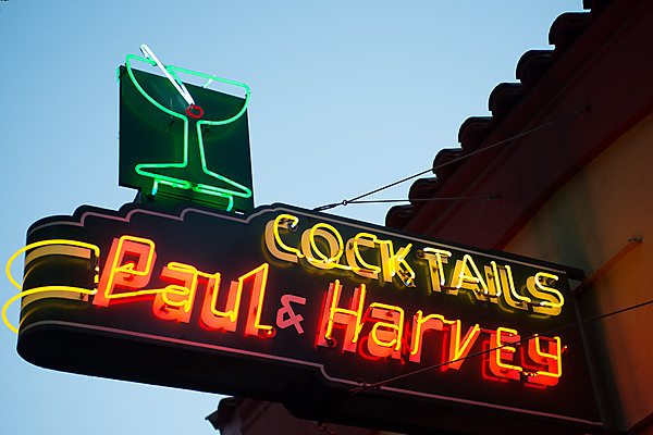 Paul and Harvey Cocktails