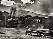 Steam Engine, Northern Nevada Railway, Ely, Nevada