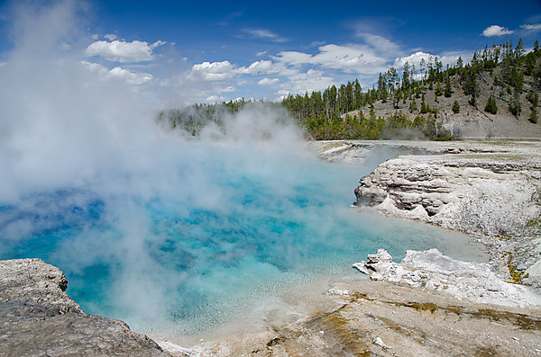 Hot Pool, Midway Geyser Basin