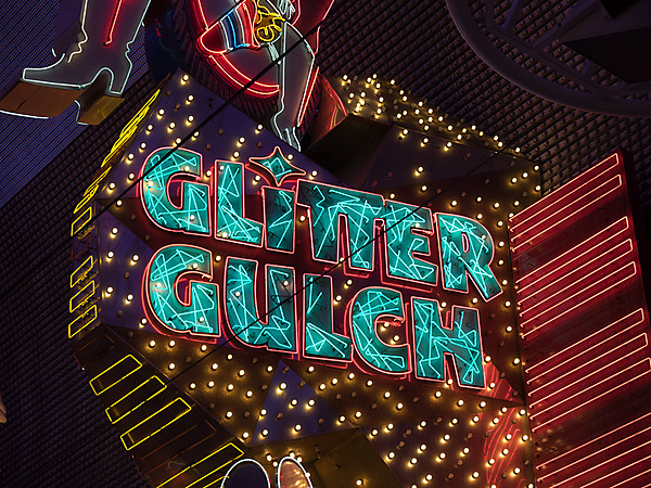 Glitter Gulch Sign