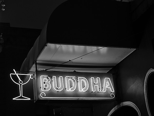 Buddha Cocktail Sign