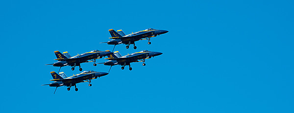 Blue Angels With Landing Gear