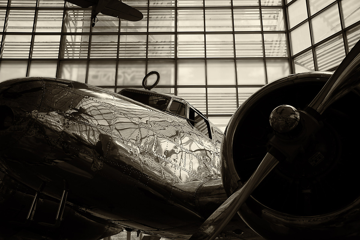 Lockheed Model 10-E Electra, Museum of Flight