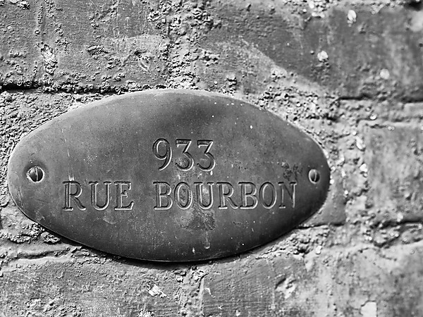 Rue Bourbon House Number
