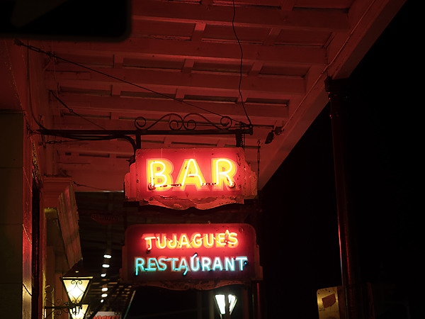 Tujague's Restaurant Bar Sign