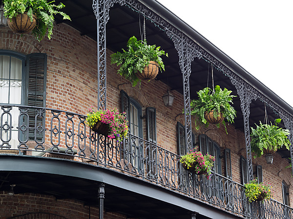 Cast Iron Railings on Balcony