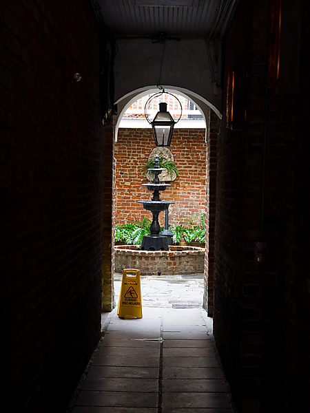 Halllway to Courtyards