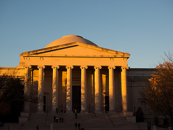 National Gallery of Art at Sunset