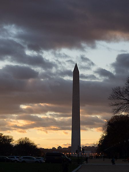 Washington Monumnet at Dusk