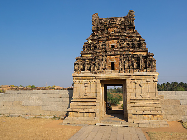 Stone Gate, Chandrashekara Temple