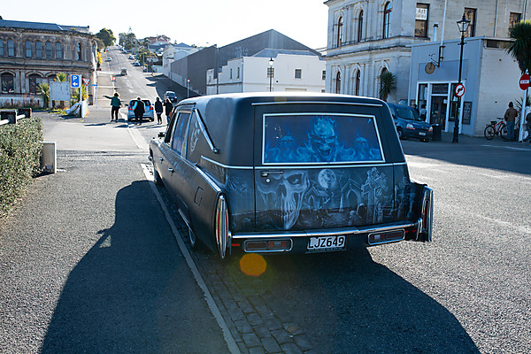 Painted Hearse