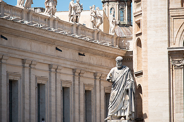 Statue at the Vatican