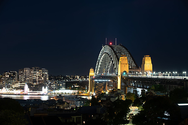 Sydney Harbour Bridge, from Observatory Hill Park