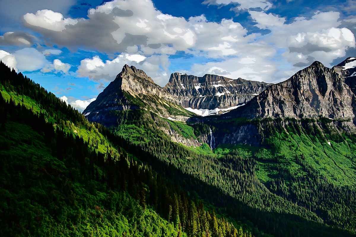 Mt. Oberlin, Glacier National Park