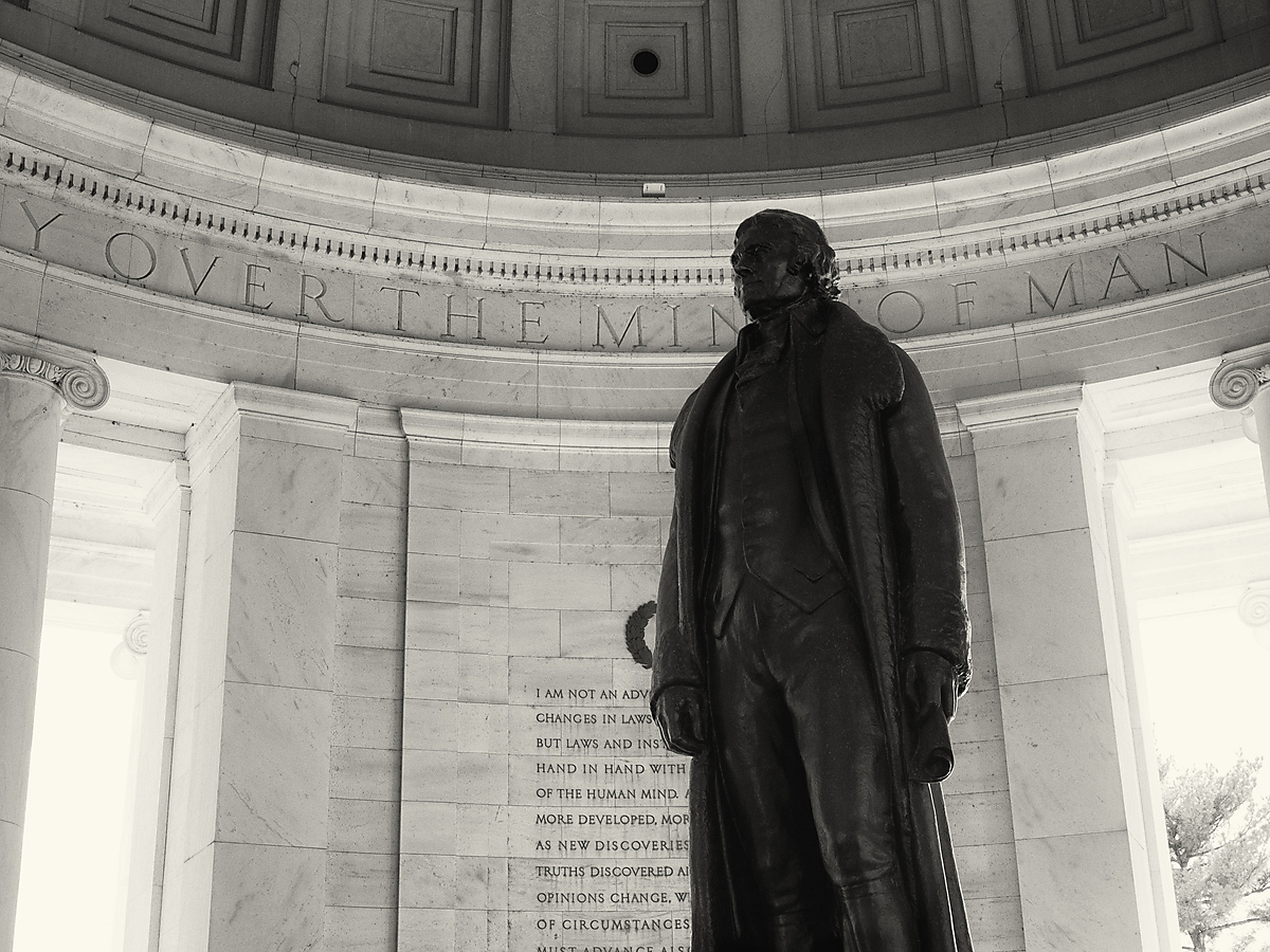 Inside of Jefferson Memorial