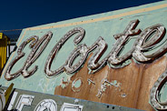El Corte Motel Sign